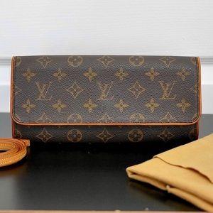🛍Louis Vuitton Pouchette Twin GM FL0041